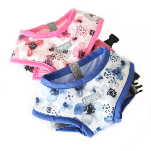 Blueberry Floral Harness