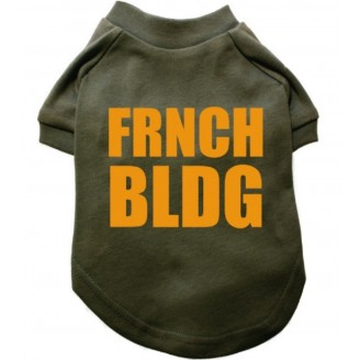 DOGWEAR | FRNCH BLDG Tee - Army Green