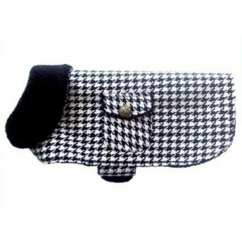DOGWEAR | Houndstooth Dog Jacket