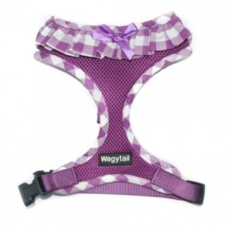 WALKIES | Purple Frilly Harness