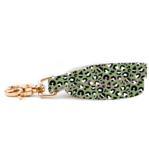 Olive Leopard Lead