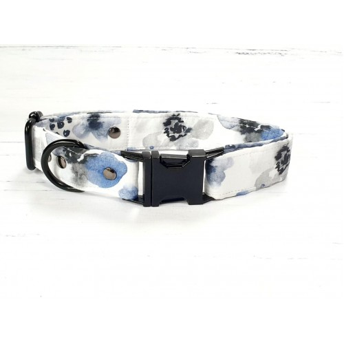 PRETTY POOCHES | Blue Berry Floral Collar