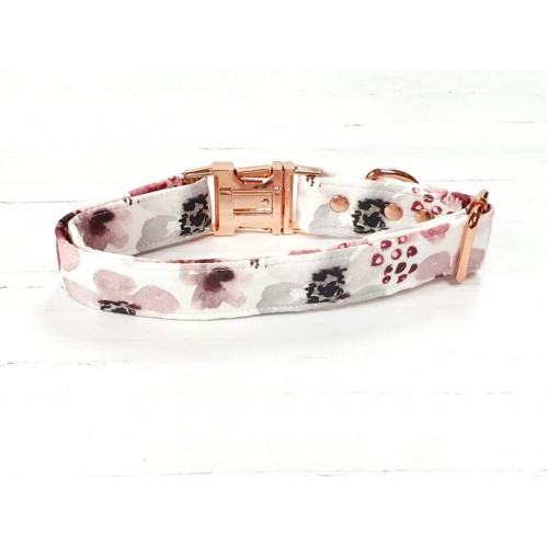 PRETTY POOCHES | Berry Floral Collar