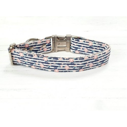Blossoming Stripes Collar